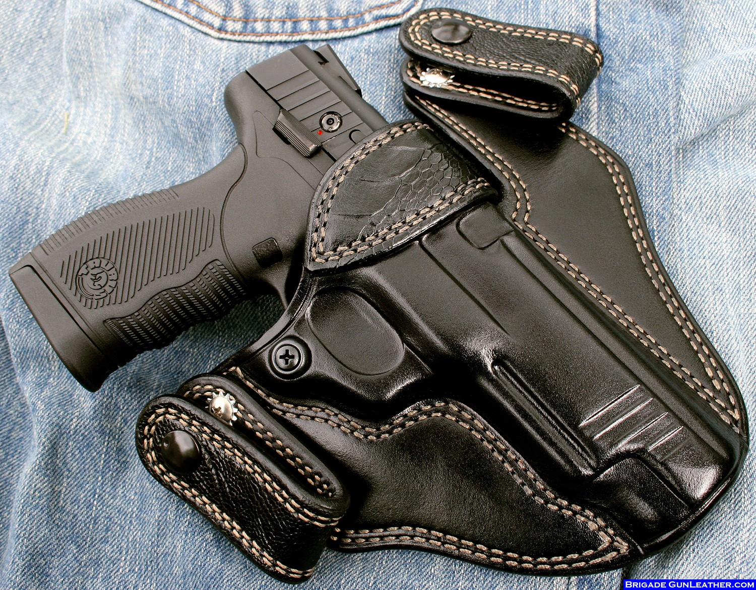 Brigade Custom Holsters | Leather Gun Holsters; Concealed Carry ...