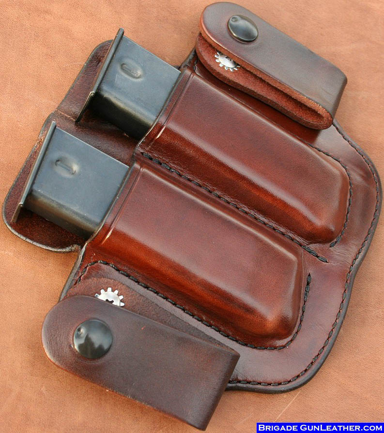 Brigade Holsters Leather M20c Iwb Mag Pouch