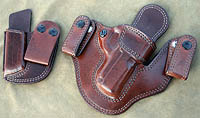 Custom Horsehide Leather Gun Holster for concealed carry 1911 pistols