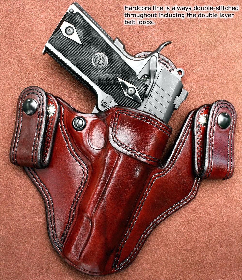 Brigade Holsters- M-11 Ultimate IWB Holster: Custom Leather ...