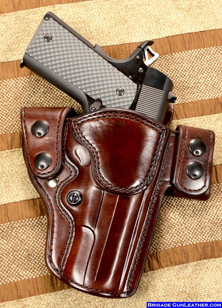 Brigade Holsters- M-5 Aspis Holster Custom Belt Holster