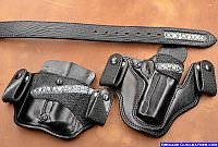 Belt Holsters Exotic Stingray Leather