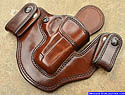 Custom M-11 Gun Holster for compact pistols, perfect for concealed carry