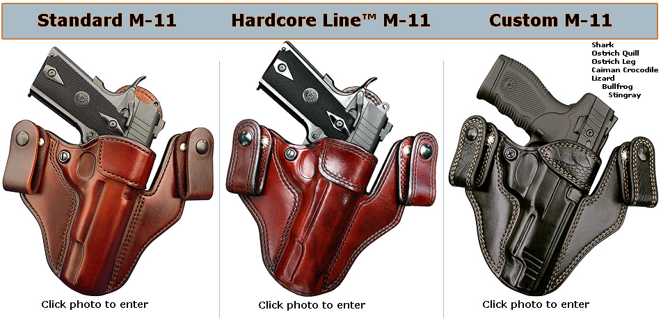 Concealed Carry Holsters and Concealment IWB Leather Holsters By ...