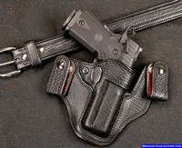 Shark Skin 1911 pistol holster, Inside waistband for the best concealment
