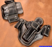 Custom 1911 gun holsters lizard exotic skin for concealed carry