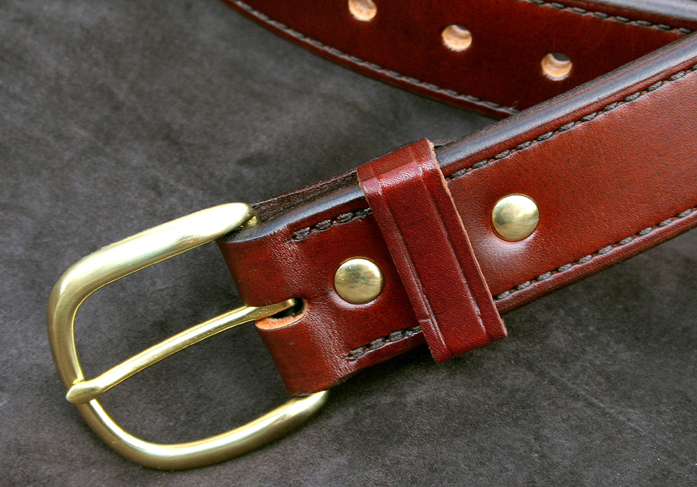 brigade holsters m 18 lined dress belt
